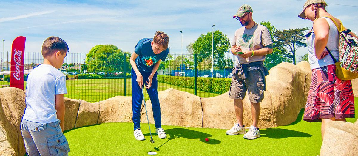 Crazy golf image
